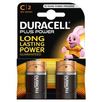 Battery alkaline DURACELL C / LR14 x2