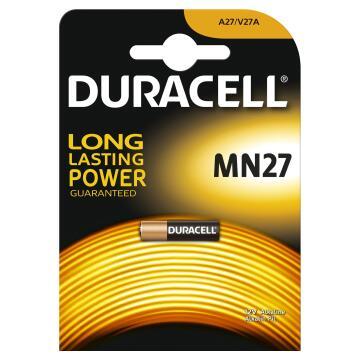 Battery alkaline DURACELL MN27 x2