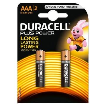Battery alkaline DURACELL AAA / LR03 x2