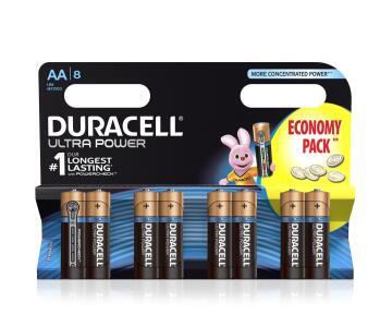 Battery alkaline DURACELL AA / LR6 x8