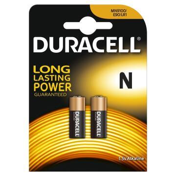Battery DURACELL N x2