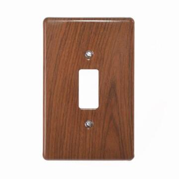 Cover plate 50x100mm for switch 1 lever CRABTREE short grain