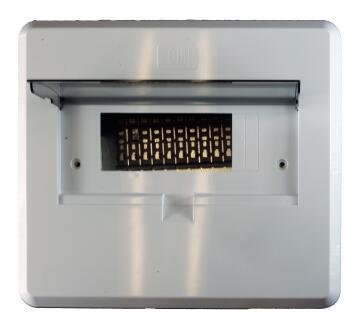 DB board unpopulated 12 ways flush mounted CBI ELECTRIC