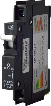 Circuit breaker mini rail 10Amp CBI ELECTRIC