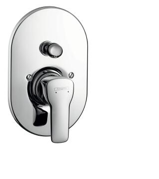 Hg mysport bath mixer conc.set chrome