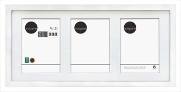 FRAME MDF PAPER WHITE 10X15CM