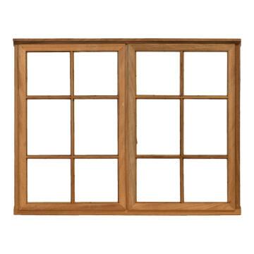 Window side hung wood WC2SPr 1O1F 56x1128x887mm
