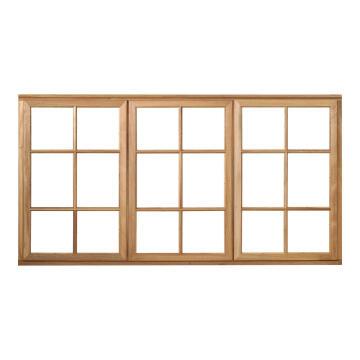 Window side hung wood WC3SP 2O1F 56x1672x887mm
