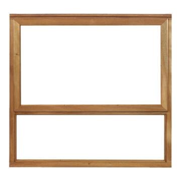 Window top hung wood WF1 1O1F 56x937x887mm