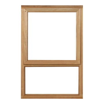 Window top hung wood WR1 1O1F 56x584x887mm