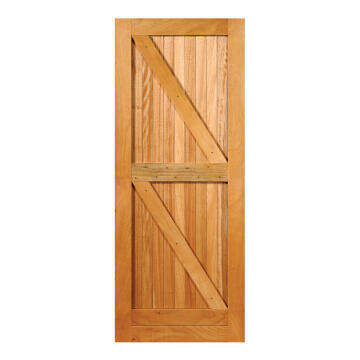 Service door engineered hard wood braCEs F&L openbck standard