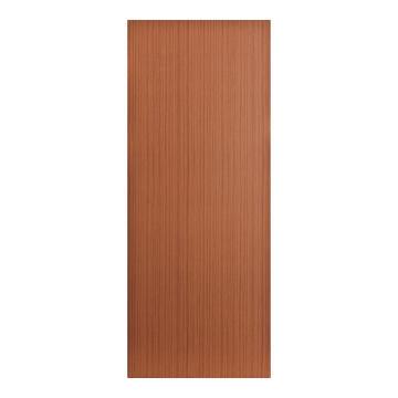 Interior Door Hard Board Hollow Core Sapele Print Exposed Edges-w813xh2032mm