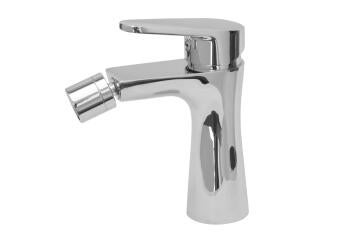 Bore tide bidet mixer and popup waste