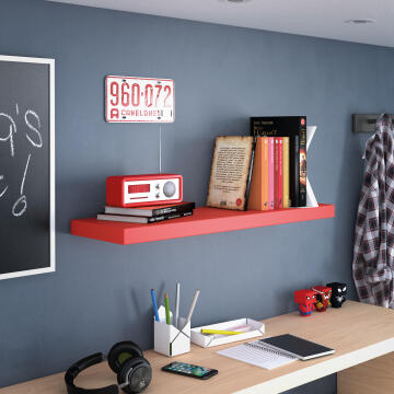 SHELVE 38MM 80*23 / RED