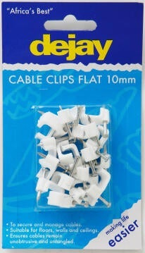 Flat saddles 10mm DEJAY x20