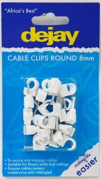 Saddles 8mm DEJAY x20