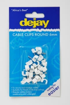 Flat saddles 6mm DEJAY x20