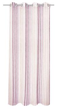 VOILE NICE PINK 140X260CM EYELETS