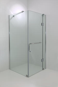 Shower stabilising arms MODICA sqr hinge shw