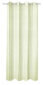 VOILE NICE GREEN 140X260CM EYELETS