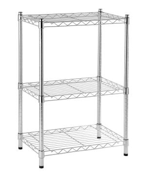 SHELF CHROME 3 TIER 60X35X90CM