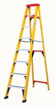 A-Frame Ladder 8 Step Fibreglass