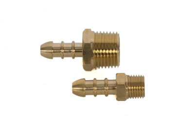 Adapter male to hosetail 3/8""
