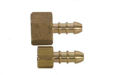 """Gas adapter female to hosetail 1/4"""""""