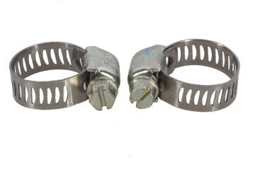 Clamps for gas hose x2