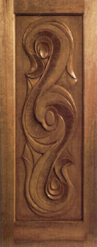 Entry door engineered hard wood symphony