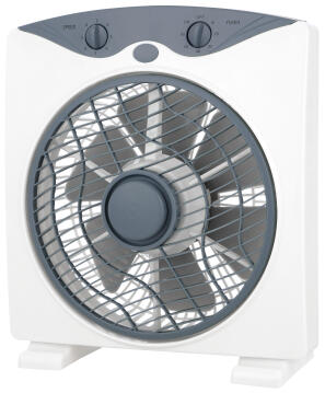 Box fan GOLDAIR 10'' slimline design 28cm