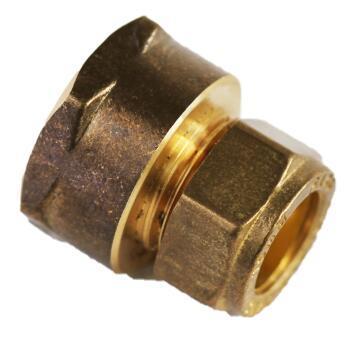 "Reducing straight coupler compression 15mm x 3/4"" c xfi"