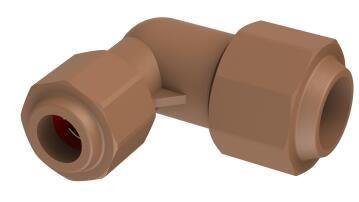 Reducing elbow UNITWIST 22mm x 15mm c x c