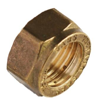 Spare cap nut for compression fitting 15mm