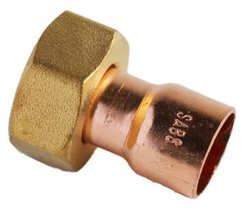Equal tee copper capillary cxcxc 28mm