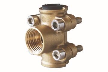 "Clamp tube repair brass 22mm x 1/2"""