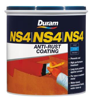 DURAM NS4 ANTI-RUST COATING WHITE 1L