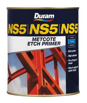 DURAM NS5 METCOTE RED 500ML