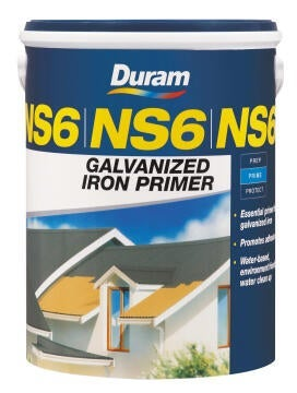 DURAM NS6 GALV IRON PRIMER YELLOW 1L