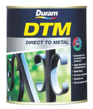 DURAM DTM HAMMERED METALLIC COPPER 250ML