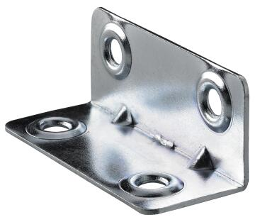 BRACKET 20X20X50MM GALVANIZED STEEL
