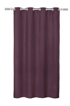 CURT B/OUT 265G/M2 PURPLE 140X260CM