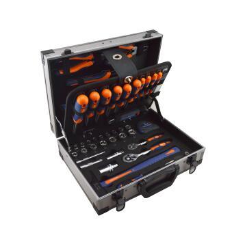 Tool set DEXTER in alu case 110 pieces