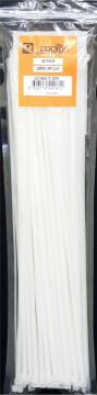 Cable tie 400x4.7mm ZOOID white x30