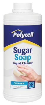 POLYCELL SUGAR SOAP LIQUID CLEANER 1L