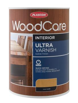 WOODCARE U/VARNISH - GLOSS LIGHT OAK 5L
