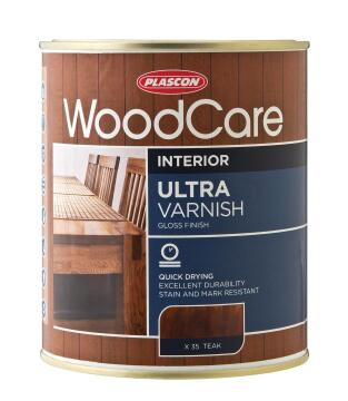 WOODCARE U/VARNISH - GLOSS CLEAR 1L