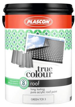 TRUE COLOUR ROOF PAINT GREEN 5L