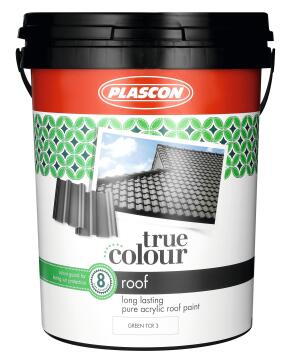 TRUE COLOUR ROOF PAINT GREEN 20L