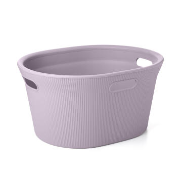 LAUNDRY BASKET LILAC